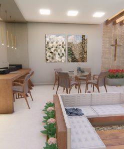 Área gourmet em Maringá - Augen Arquitetura