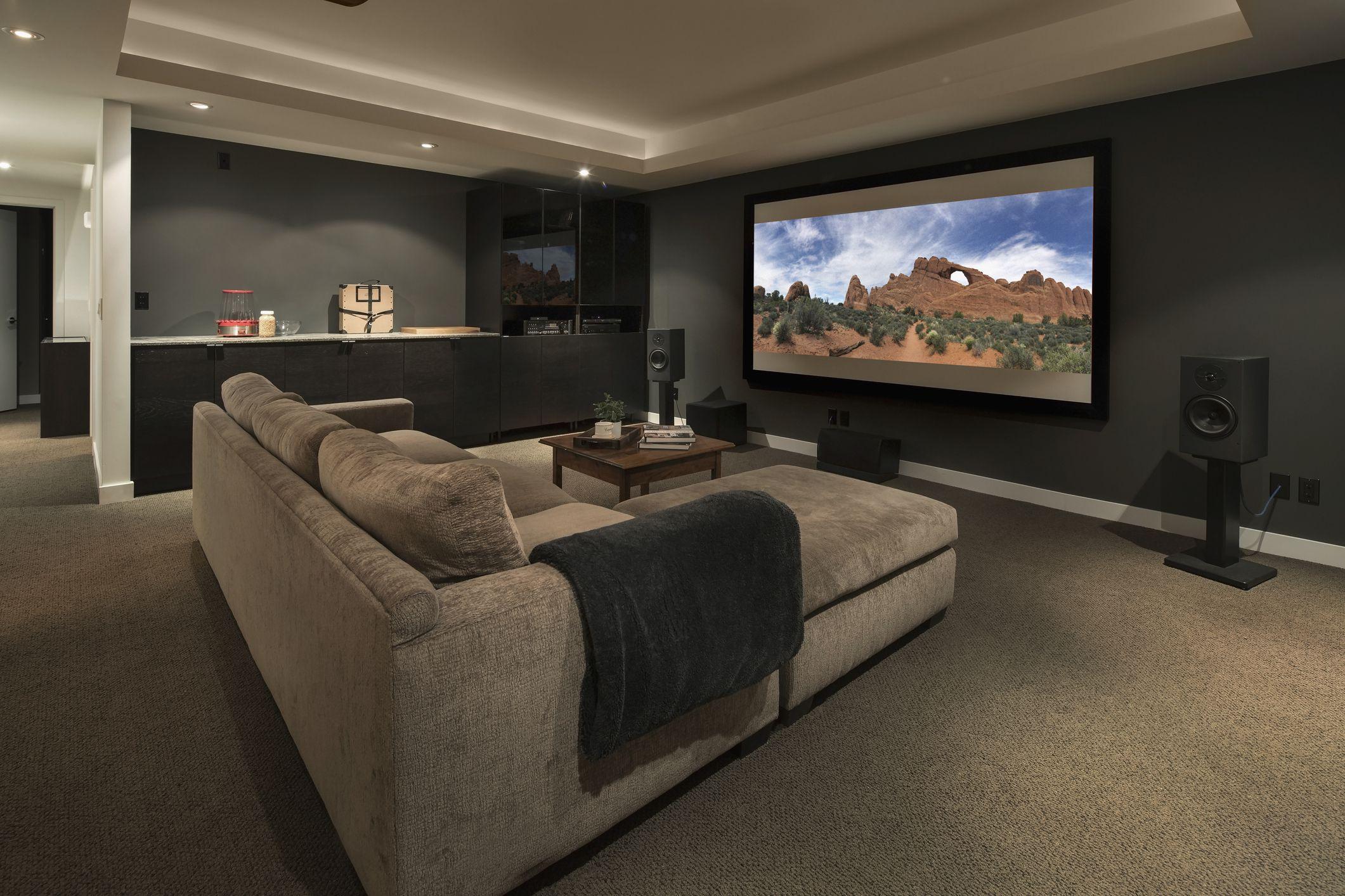 Sala de cinema em casa
