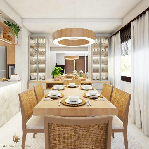 Sala de jantar - Iost Arquitetura