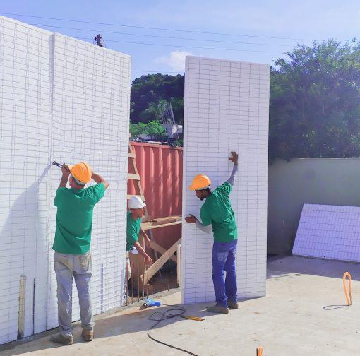 Haus Construção Consciente - Obras