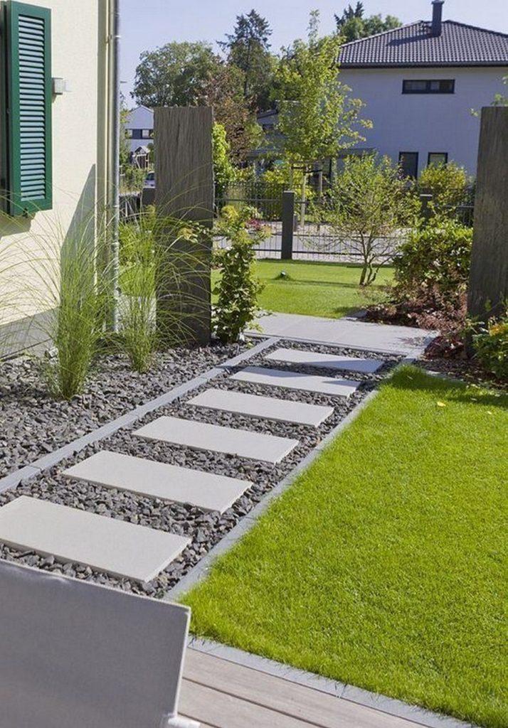 pisante de concreto para jardim