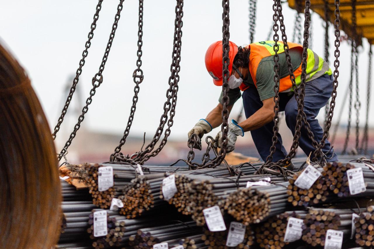 importação de aço